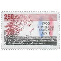 1992 Convention nationale à Paris le 22 juin 1792, l'an premier de la république française 1792 AN 1