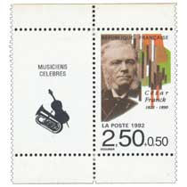 1992 César Franck 1822-1890