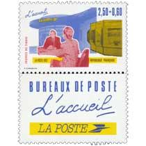 1992 JOURNÉE DU TIMBRE L'accueil