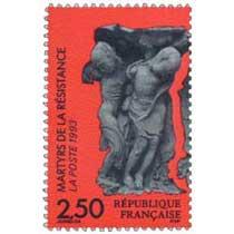 1993 MARTYRS DE LA RÉSISTANCE