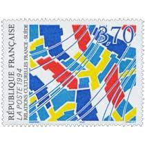 1994 RELATIONS CULTURELLES FRANCE-SUÈDE