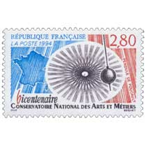 1994 bicentenaire CONSERVATOIRE NATIONAL DES ARTS ET MÉTIERS PENDULE DE FOUCAULT