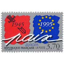 EUROPA paix 1945-1995