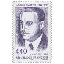 1996 JACQUES MARETTE 1922-1984