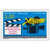 1996 50e FESTIVAL INTERNATIONAL DU FILM. CANNES