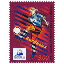 1998 FRANCE 98 COUPE DU MONDE DE FOOTBALL Bordeaux