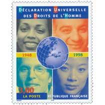 DÉCLARATION UNIVERSELLE DES DROITS DE L'HOMME 1848 1998