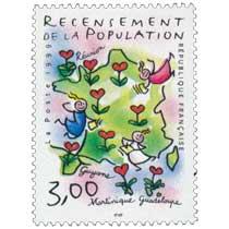 1999 RECENSEMENT DE LA POPULATION Guyane Martinique Guadeloupe