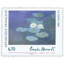 1999 Claude Monet Nymphéas, effet du soir