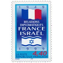 RELATIONS DIPLOMATIQUES FRANCE ISRAËL 1949-1999