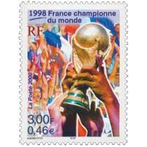 2000 1998 France championne du monde