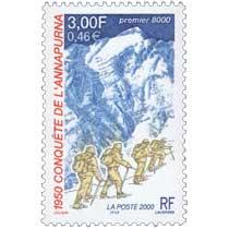 2000 1950 CONQUÊTE DE L'ANNAPURNA premier 8000