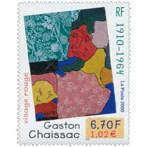 2000 Gaston Chaissac 1910 -1964 visage rouge