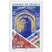 BANQUE DE FRANCE 1800-2000
