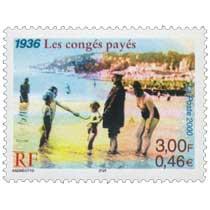 2000 1936 Les congés payés