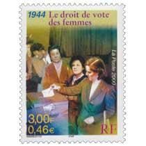 2000 1944 Le droit de vote des femmes