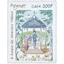 2000 Peynet le kiosque des amoureux Valence