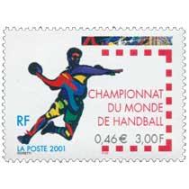 2001 CHAMPIONNAT DU MONDE DE HANDBALL