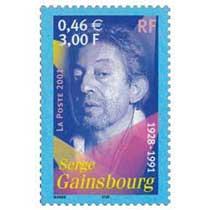 2001 Serge Gainsbourg 1928-1991