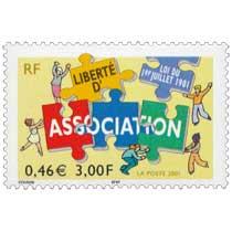 2001 LOI DU 1er JUILLET LIBERTÉ D'ASSOCIATION