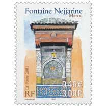 2001 Fontaine Nejjarine Maroc