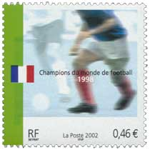 2002 Champions du monde de Football 1998