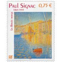 2003 PAUL SIGNAC 1863-1935 LA BOUÉE ROUGE