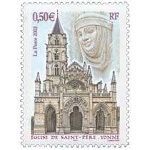 2003 ÉGLISE DE SAINT-PÈRE. YONNE