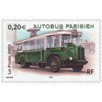 2003 AUTOBUS PARISIEN