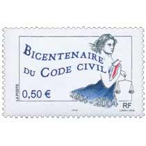 BICENTENAIRE DU CODE CIVIL 1804 - 2004