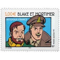 2004 BLAKE ET MORTIMER BELGIQUE-FRANCE