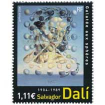 2004 Salvador Dali 1904-1989 Galatée aux sphères