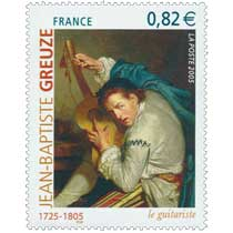 2005 JEAN-BAPTISTE GREUZE 1725-1805 le guitariste