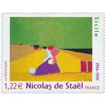 2005 Nicolas de Staël 1914-1955 Sicile