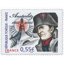 RÉPUBLIQUE TCHÈQUE – FRANCE Austerlitz 1805-2005