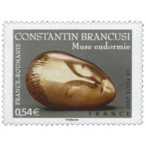 2006 CONSTANTIN BRANCUSI FRANCE-ROUMANIE Muse endormie