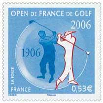 OPEN DE FRANCE DE GOLF 1906-2006