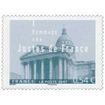 2007 Hommage aux Justes de France