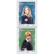 2007 FÊTE DU TIMBRE4 timbres n° 1 (Harry Potter