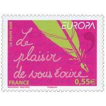 2008 EUROPA Le plaisir de vous écrire