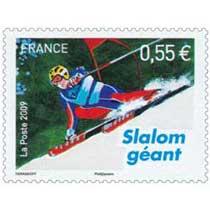 2009 Slalom géant