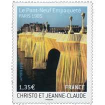 2009 CHRISTO ET JEANNE-CLAUDE Le Pont-Neuf Empaqueté PARIS 1985