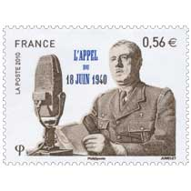 2010 L'APPEL DU 18 JUIN 1940