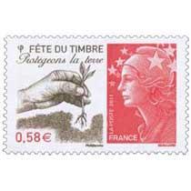 2011 Fête du timbre Protégeons la terre