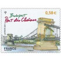 2011 Budapest Pont des chaînes