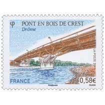 2011 Pont en Bois de Crest Drôme