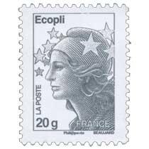 Écopli - type Marianne de Beaujard