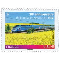 2011 30e anniversaire de la mise en service du TGV