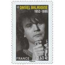 2011 DANIEL BALAVOINE 1952 - 1986
