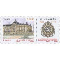 2012 LE MUSÉE D'ORSAY 85e congrès de la Fédération Française des Associations Philatéliques